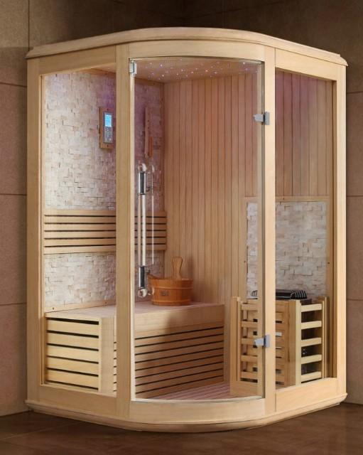 Saune finlandesi e saune ad infrarossi  Sauna e benessere in casa